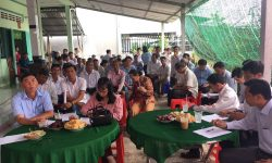 Gần 70 hội viên nông dân dự Hội thảo đầu bờ về rau màu