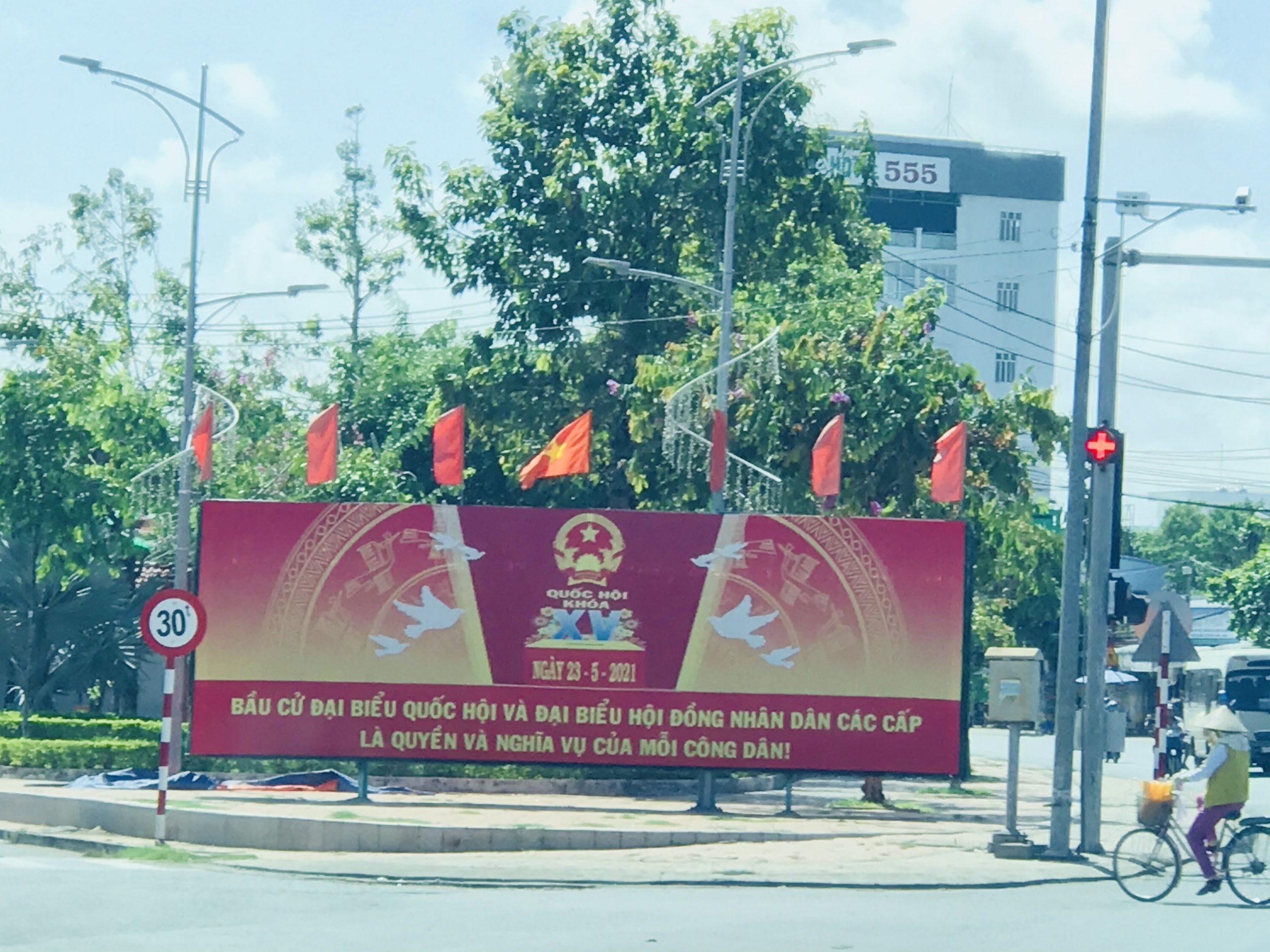 Hội Nông dân quận Ô Môn đẩy mạnh công tác tuyên truyền bầu cử