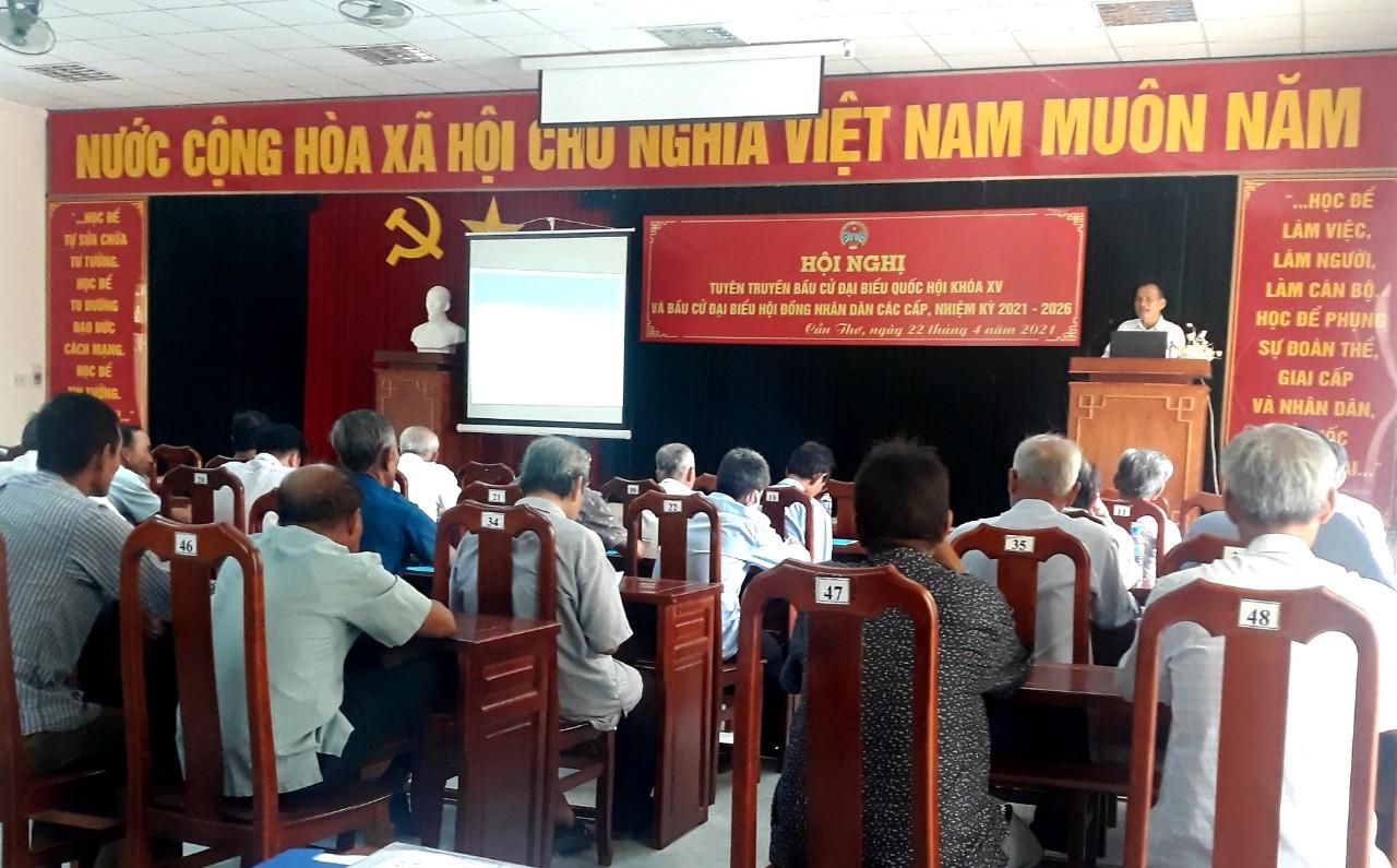 Hội Nông dân thành phố Cần Thơ tổ chức hội nghị tuyên truyền bầu cử