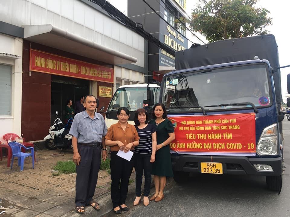 Hội Nông dân thành phố Cần Thơ hỗ trợ tiêu thụ nông sản