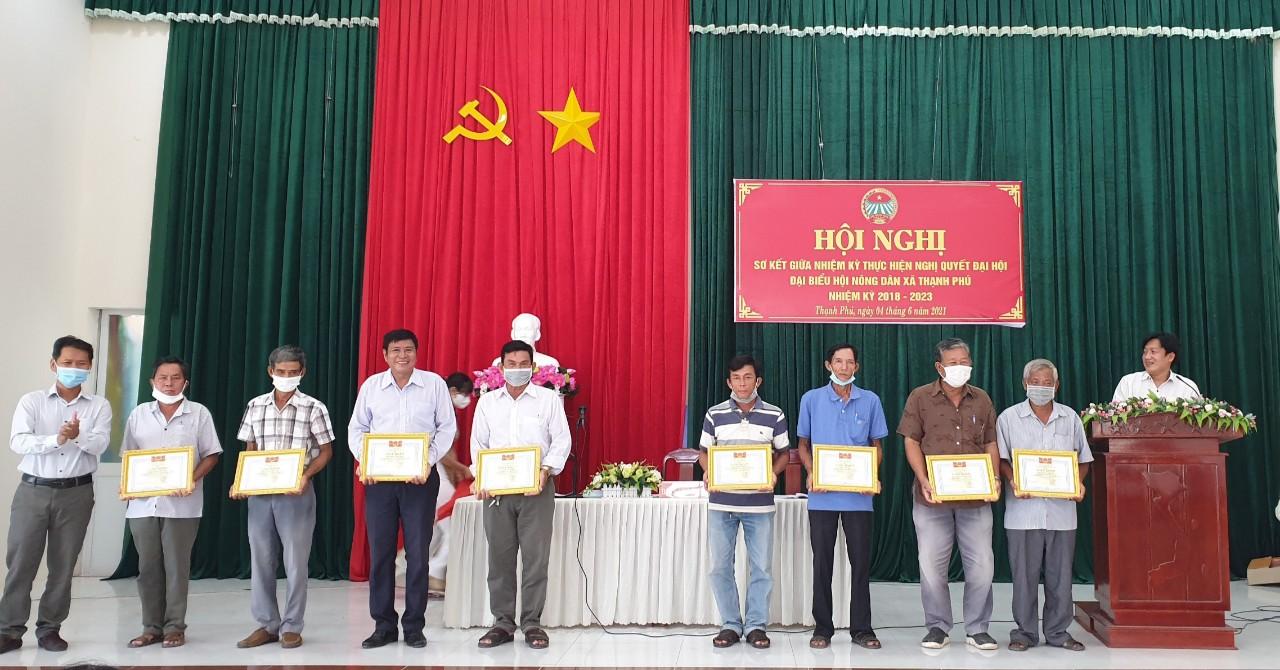 Hội Nông dân xã Thạnh Phú (huyện Cờ Đỏ) sơ kết giữa nhiệm kỳ